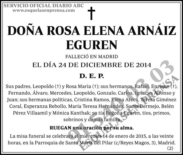 Rosa Elena Arnáiz Eguren